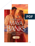 Maya Banks Wanted by Her Lost Love
