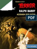 Acosada Por Satan - Ralph Barby