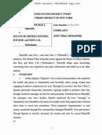 2019.08.15 Filed Complaint-Jane Doe 1 and 2 V