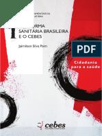 Livro a Reforma Sanitária Brasileira e o CEBES