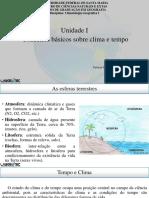 Conceitos Basicos sobre clima e tempo