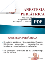 Anestesia Pediatrica