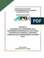 R165 - Ganadería Guirayoaza - Alto Isoso