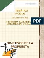 MATEMATICA_PRIMER_CICLO_PRIMER_GRADO.pps