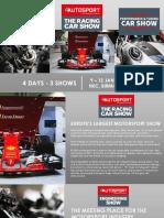 Autosport International 2020 sales brochure