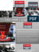 Autosport International 2020 sales brochure
