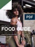 Fitgurmel Food Guide 3 Days
