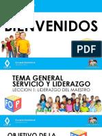 Diapositivas El Liderazgo Del Maestro