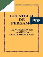 Notación en la música Contemporánea - Locatelli