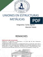 uniones estrcutras metalicas