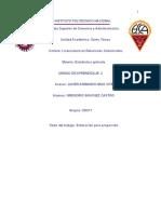 Gregorio Sanchez Castro-ejercicio 2. Estimacion Para Proporcion