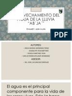 APROVECHAMIENTO DEL AGUA.pptx