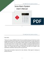 Manual de configuración de alarma GSM/GPRS