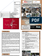 Brochure - Seminar on Tsunami & Earthquake Risk in Malaysia-rev