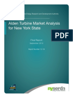 Alden Turbine Market Analysis NYS