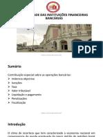 Fiscalidade Das Instituições Financeiras Bancárias 1