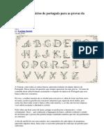 Dicas e comentários de português para as provas da VUNESP.docx