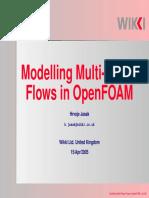modeling multi-phase flows in Openfoam