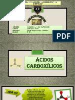 Diapositivas Acidos Carboxilicos - Shirlee Roman Quispe