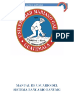 Manual de Usuario Del Sistema Bancario Banumg