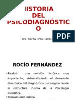 historia del psicodiagnostico