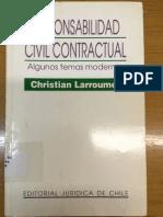 Larroumet (1998) Responsabilidad Civil Contractual