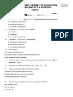MODALIDAD FLEXIBLE DE EDUCACIÓN EXAMEN MODULO #1.docx