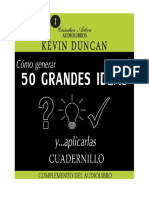 Cadernillo Cómo Generar 50 Grandes Ideas y Aplicarlas