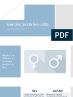 Gender, Sex & Sexuality