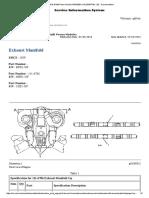 Exhaust Manifold PM3516 3516B Power Module NBR00001-UP