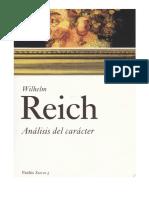 1.-REICH-Análisis del carácter Capítulo 7-16
