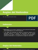 Reglas Del Redondeo