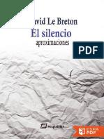 Le Breton David - El silencio.pdf