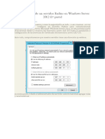 Configuracion de Un Servidor Radius en Windows Server 2012