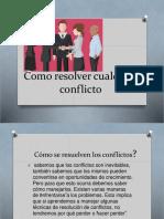 Como Resolver Cualquier Conflicto