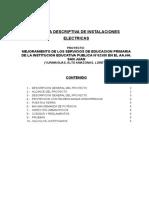 Memoria Descriptiva_electricas San Juan