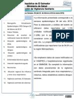 Boletin Epidemiologico SE 09-2019