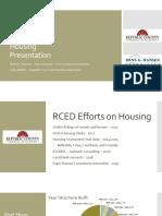 Harley Schuster Internship Housing Presentation