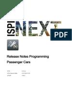 Release Notes ISTA Programming P3.66.2 4.18.2 en-GB