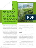 Manejo Del Agua de Riego en Zonas de Ladera - Marcelo Calvache Ulloa