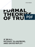 Jc Beall, Michael Glanzberg, David Ripley - Formal Theories of Truth-Oxford University Press (2018)