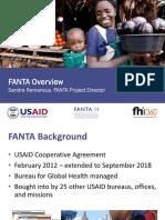 FANTA Overview