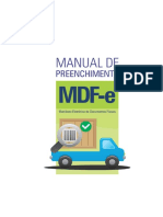 Manual Preenchimento MDFe Julho 2015 Versão Final