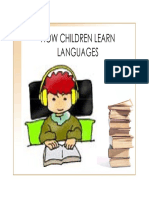How Children Learn Languages