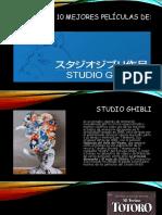 Ppt- 10 Películas de Studio Ghibli- Casi Actual