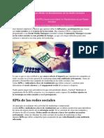 8 KPIs Claves Para Medir en Rendimiento de Las Redes Sociales