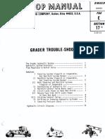 Galion grader repair manual