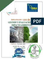Plan de Trabajo Virtual Digam - Ing. Tania Zamorano - Fichas Ambientales 2.V.