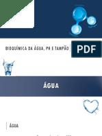 Bioquímica - Aula 2 - Água, PH e Tampão