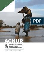 ACNUR, Cambio Climático y Desastres